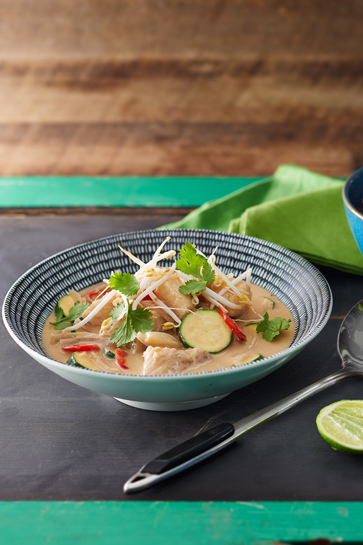 ... with nut butters like this idea for green peanut curry with fish