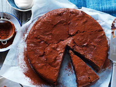 Incredible and rich chocolate cake recipe