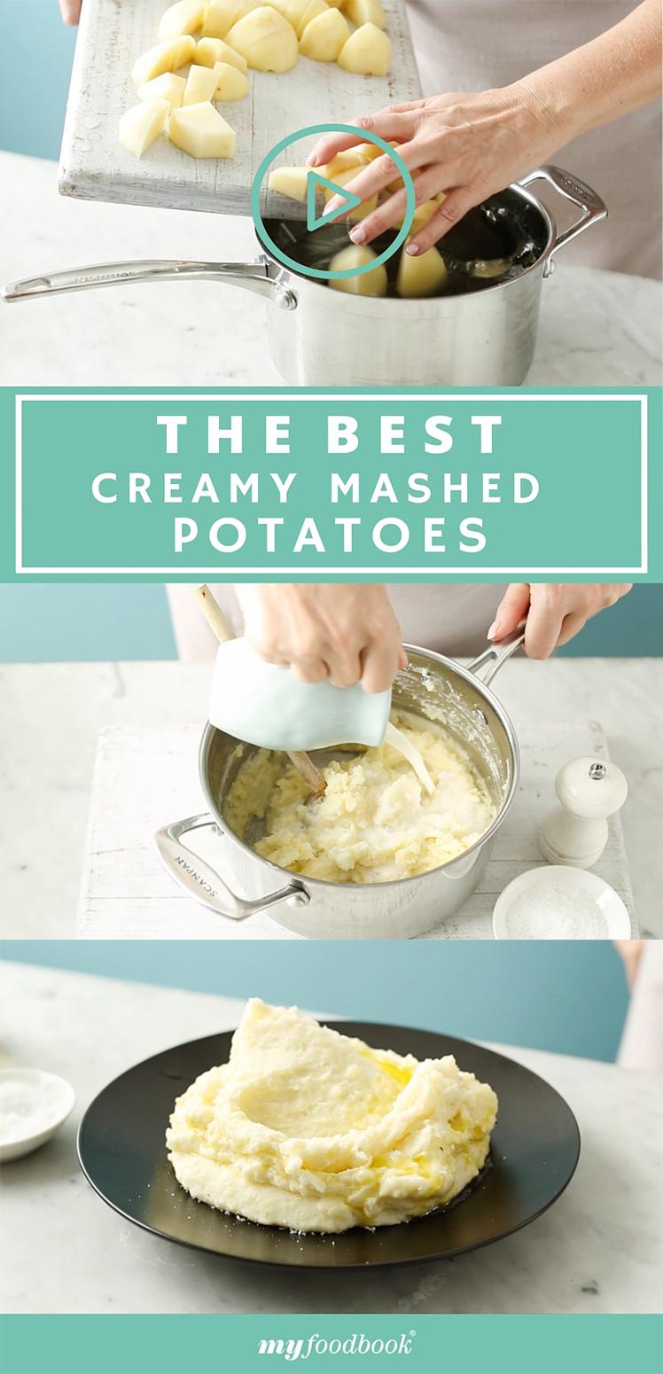 How to make creamy mashed potatoes