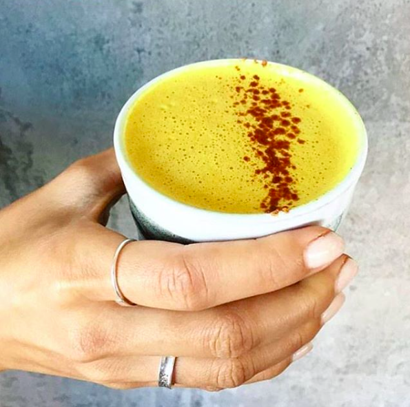 Melbourne cafe Matcha Mylkbar is creating new ways to latte like this turmeric latte