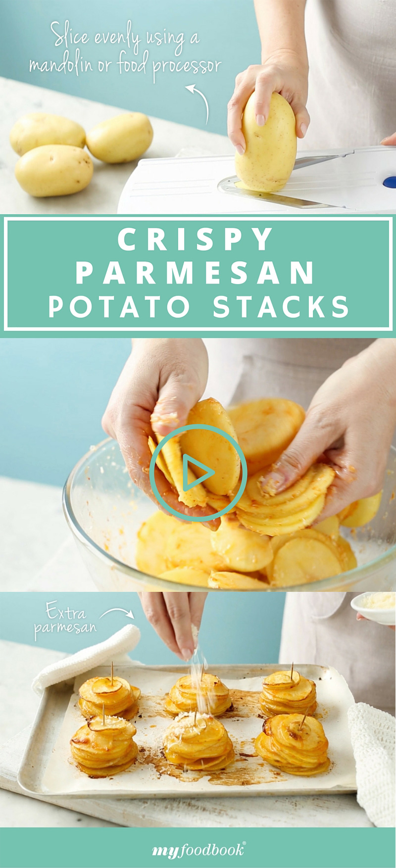 How to make delicious potato stacks!