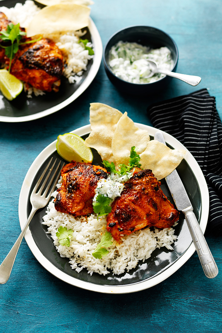 Make Tandoori chicken with this easy tandoori marinade made with the Breville Boss to Go Blender