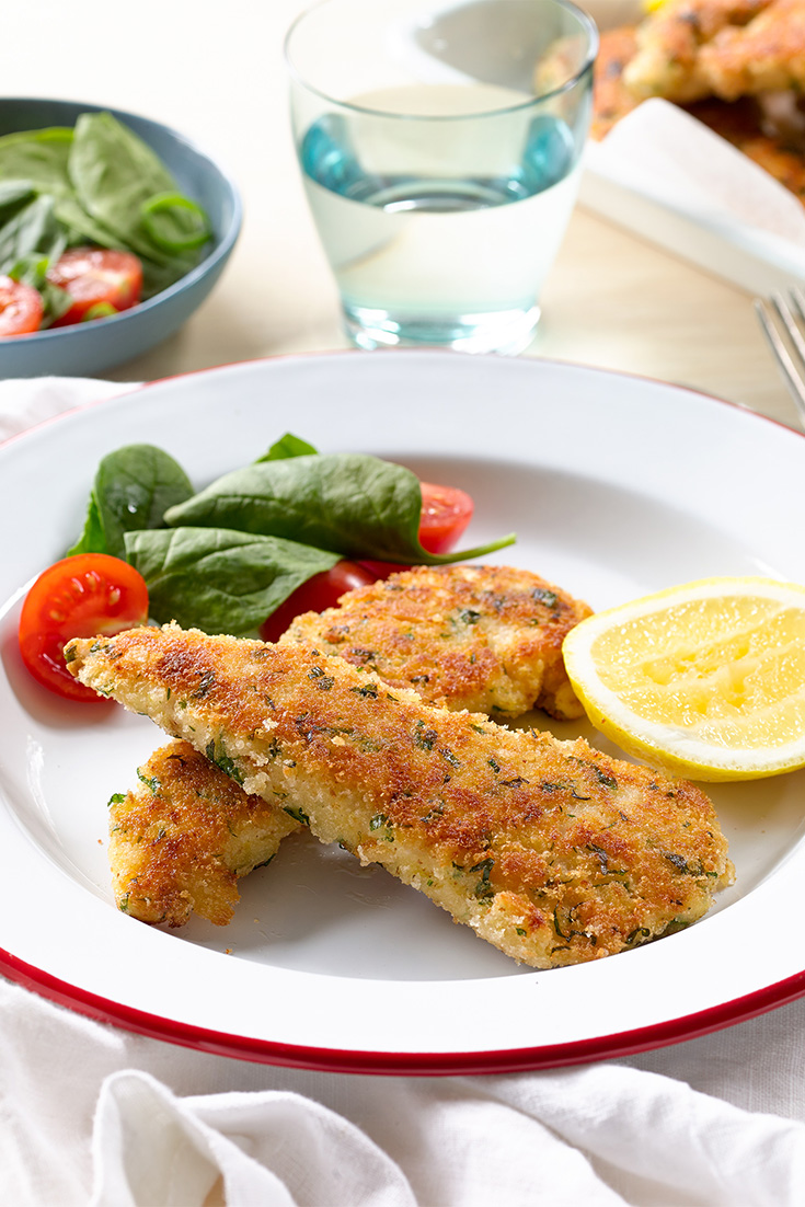 Make chicken strips to serve with oven-baked potato wedges for an easy family favourite dinner