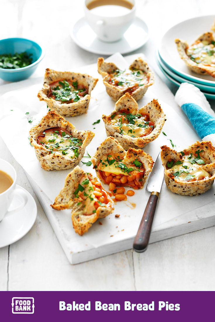 This baked bean bread pies recipe is just one of the easy family-friendly recipe ideas on the weekly meal planner