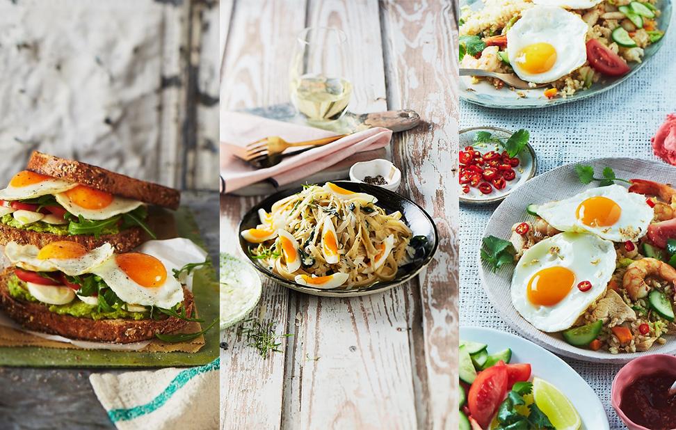 Easy egg dinner ideas