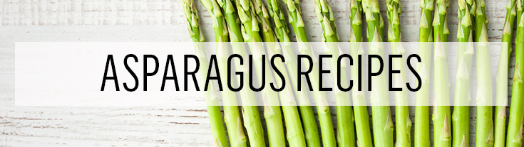 Asparagus recipe collection perfect for spring cooking
