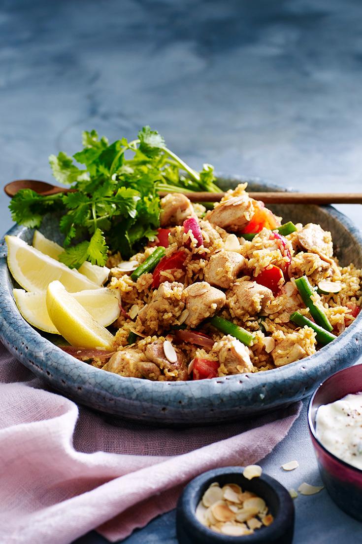 Try this Chicken Biryani recipe for dinner tonight