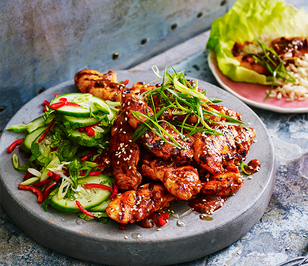Delicious Korean marinated chicken recipe in under 30 minutes