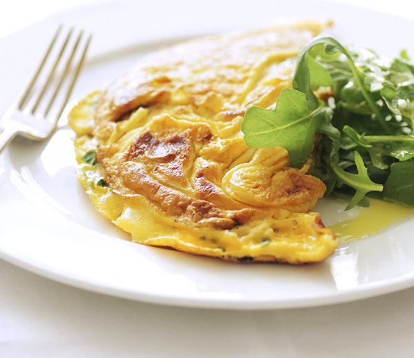 The ultimate fluffy two egg omelette recipe
