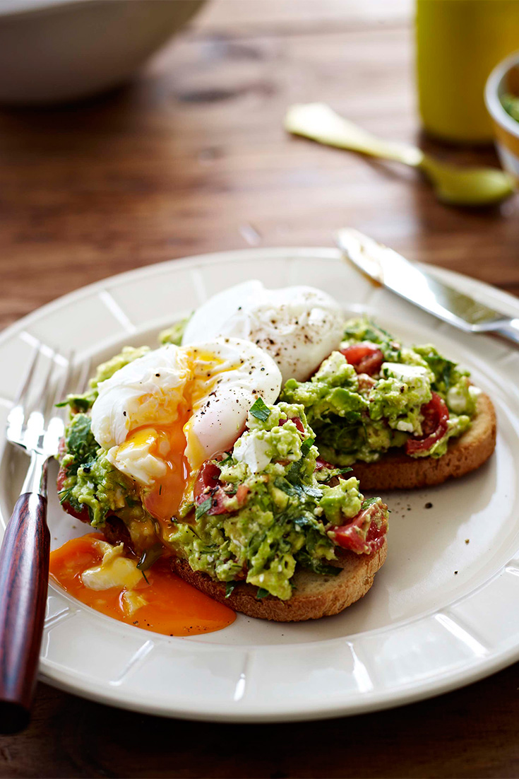 Make this delicious Poached Eggs Recipe with Avocado and Feta Smash and serve on sourdough toast