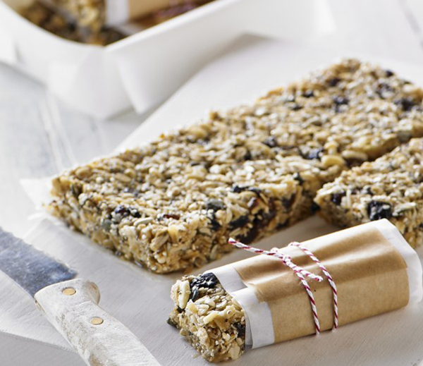 Homemade muesli bars like these ones by Breville are the perfect idea to make ahead for a busy week