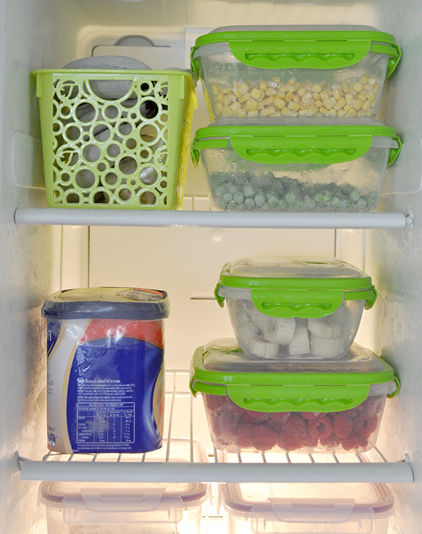 Organising your freezer is easy with these 5 tips. Image via The Organised Housewife.