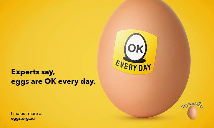 It's OK to have an egg a day. Eggs make the perfect protein breakfast or easy idea for dinner.