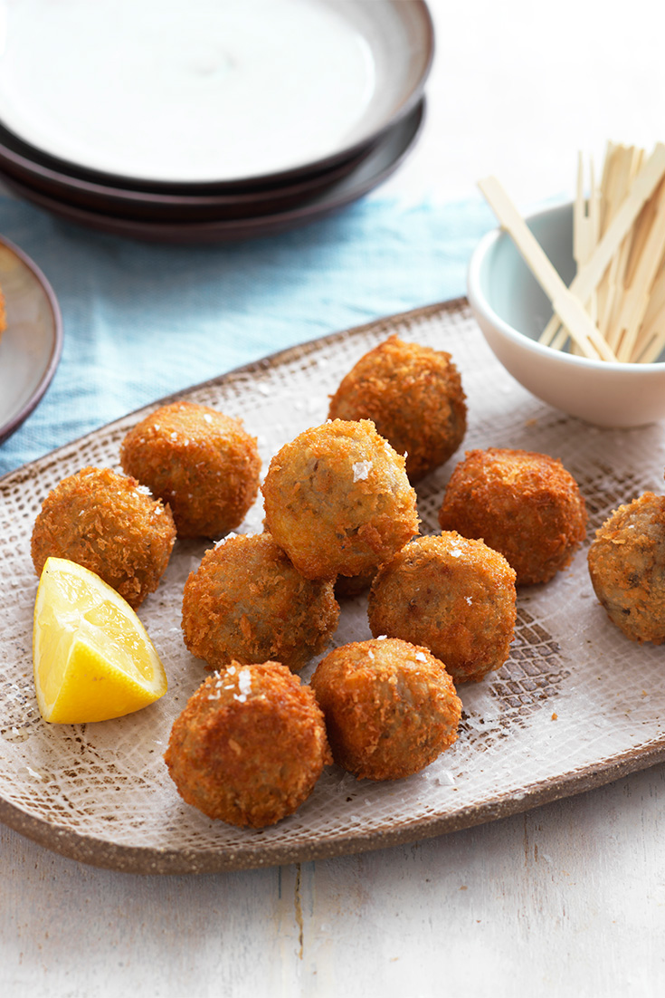 Make homemade Mushroom Arancini for a Melbourne Cup day party