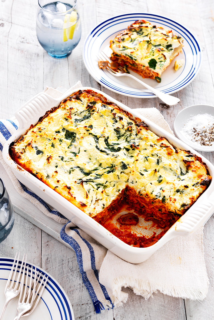 Make a delicious mushroom lasagne recipe with this easy veggie smuggler idea