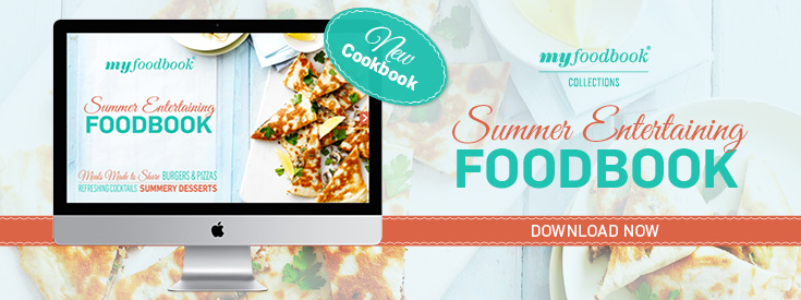 The Summer Entertaining Foodbook is filled with great warm weather recipes like meals to share and cocktail recipes