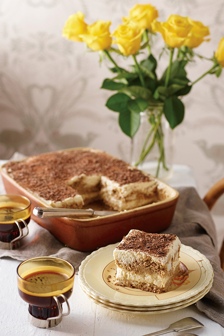 Make a delicious tiramisu recipe that is gluten free, for your next dinner party soiree
