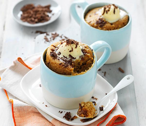 Coffee Cake in-a-Mug Recipe