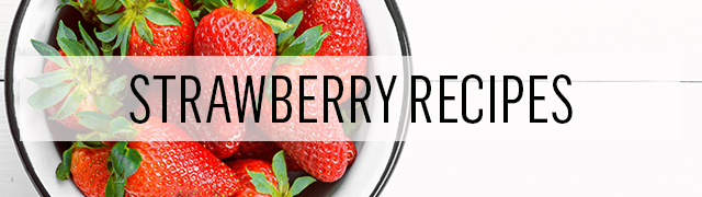 Make delicious recipes from our seasonal collection with fresh strawberries