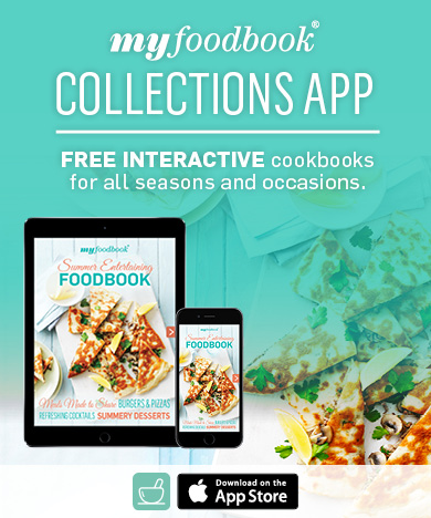 The Summer Entertaining Foodbook has easy Entertaining ideas and great summer recipes