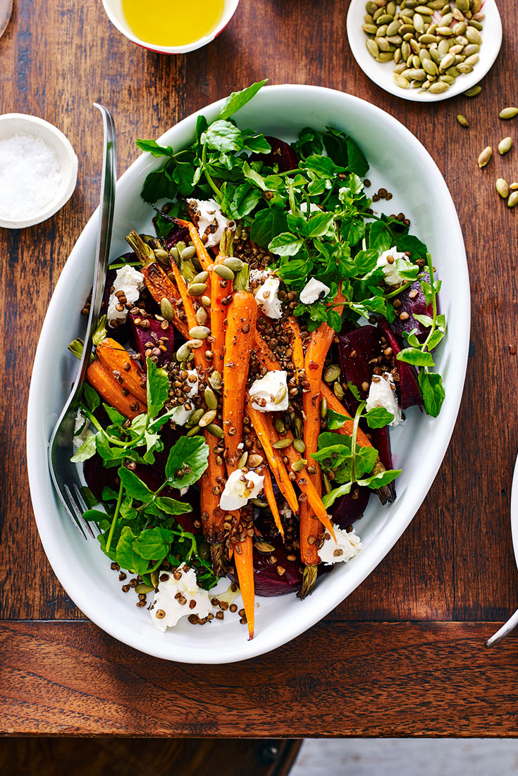 This delicious festive Carrot Salad is a great Christmas side idea