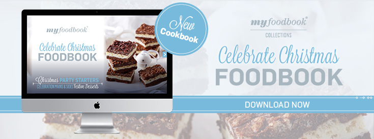 Celebrate Christmas with myfoodbook by downloading our new recipe eBook