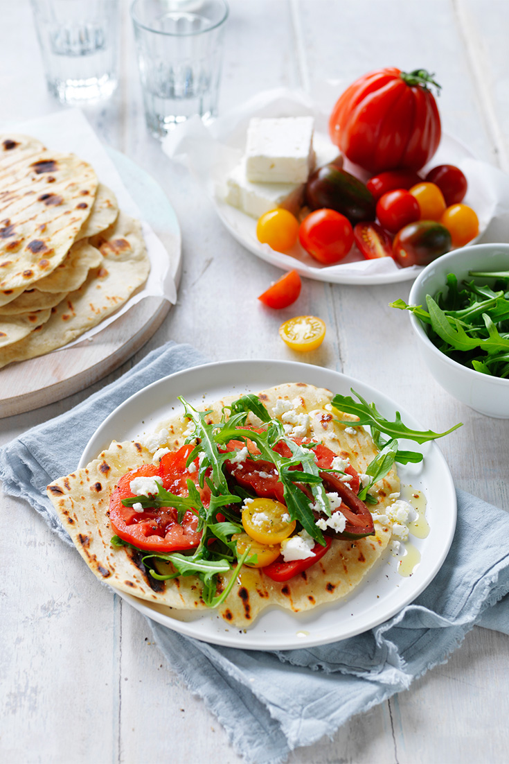Make these easy flatbreads for a great entertaining idea