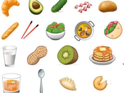 New Food emojis coming in 2017