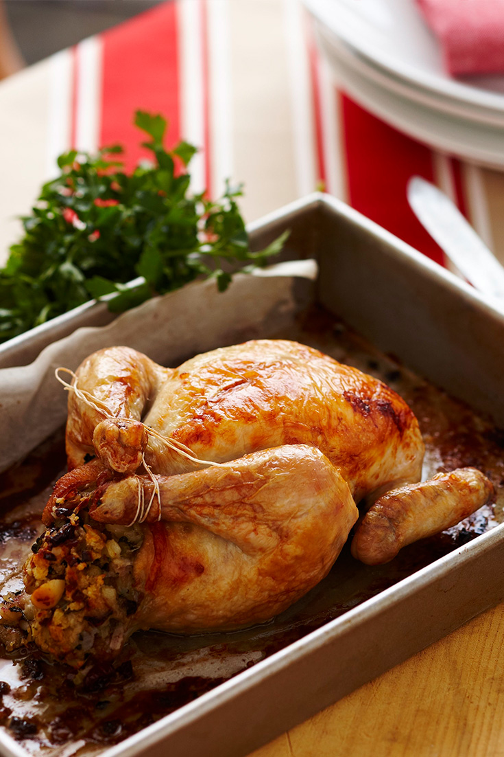 Freeze this stuffing for an easy Christmas Day hack