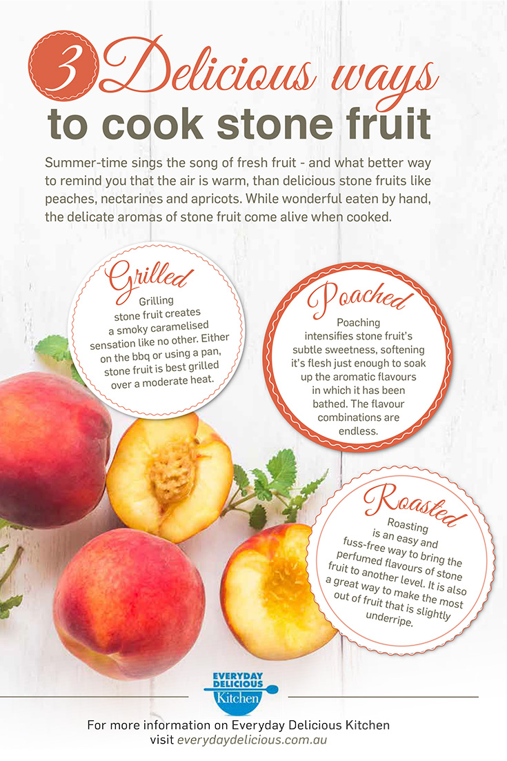 How to cook summer fruits