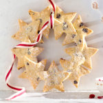 Turn your perfect butter Shortbread into a wreath for Christmas