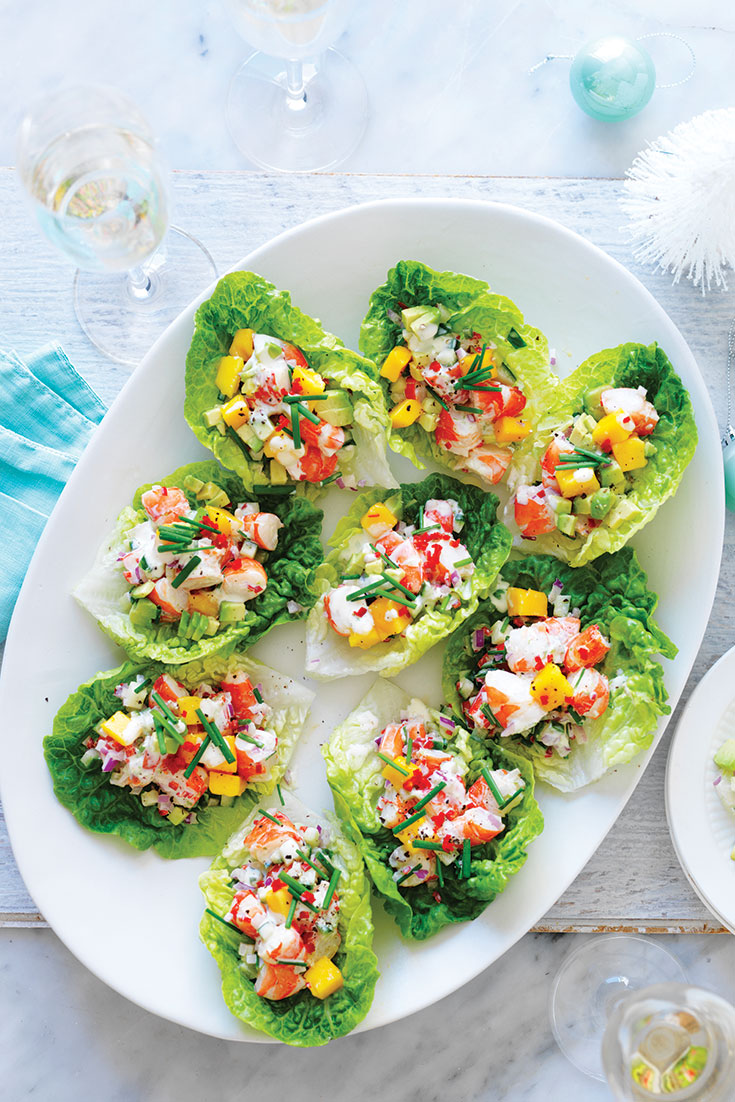 This easy avocado, mango and chilli prawn cups recipe is the perfect recipe to use mango this summer.