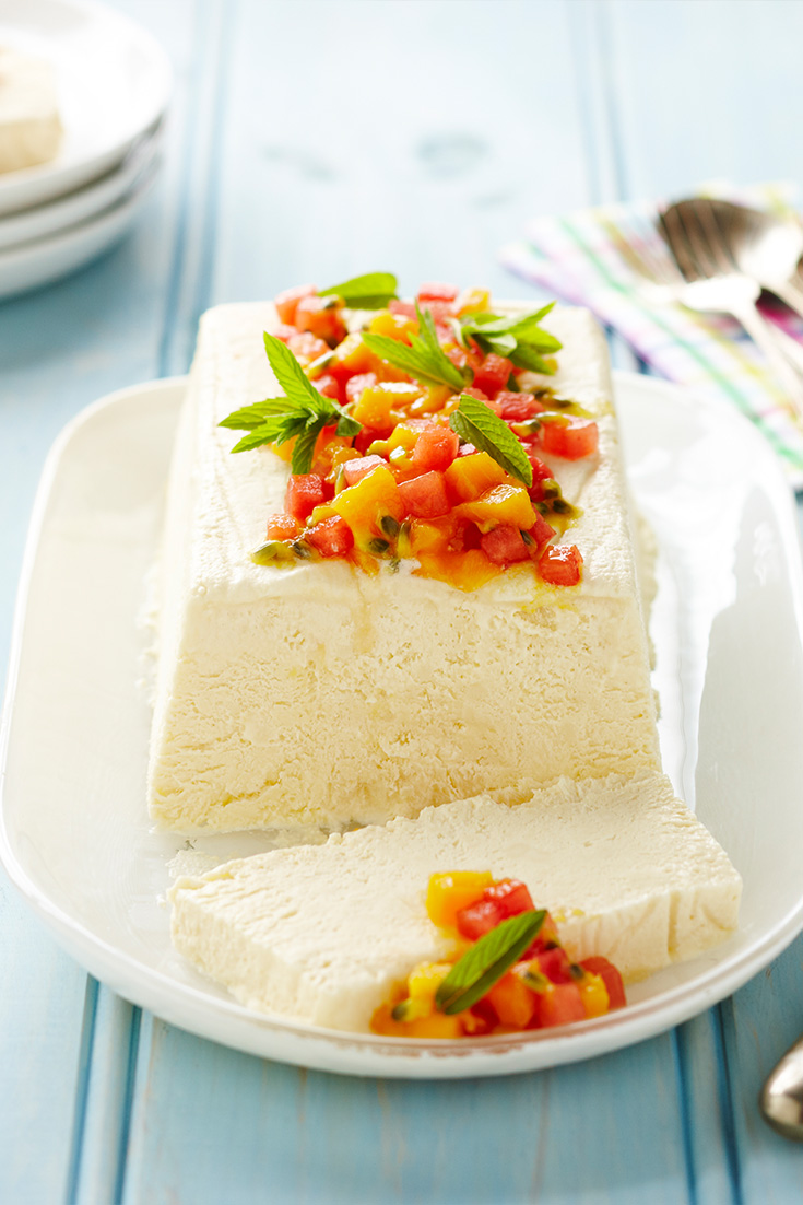 This gorgeous Semifreddo is the perfect summer dessert