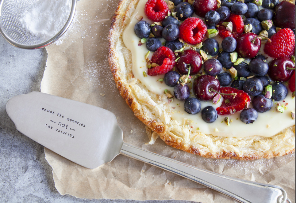 Personalised cutlery from the Cutlery Commissions is a great gift for food lovers this Christmas