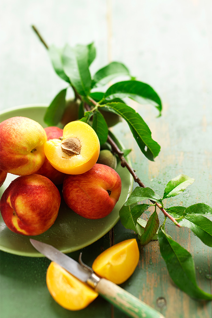 Fresh peaches and nectarines are in season this summer