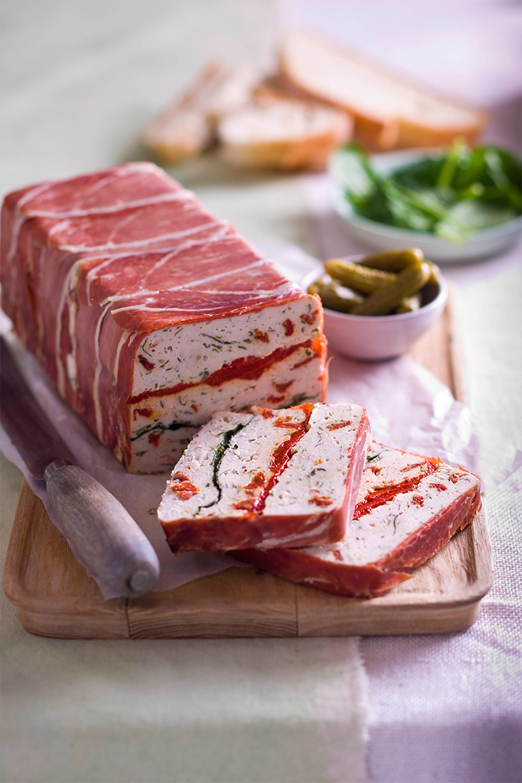 Easily portable party recipes myfoodbook food stories for Tomato terrine