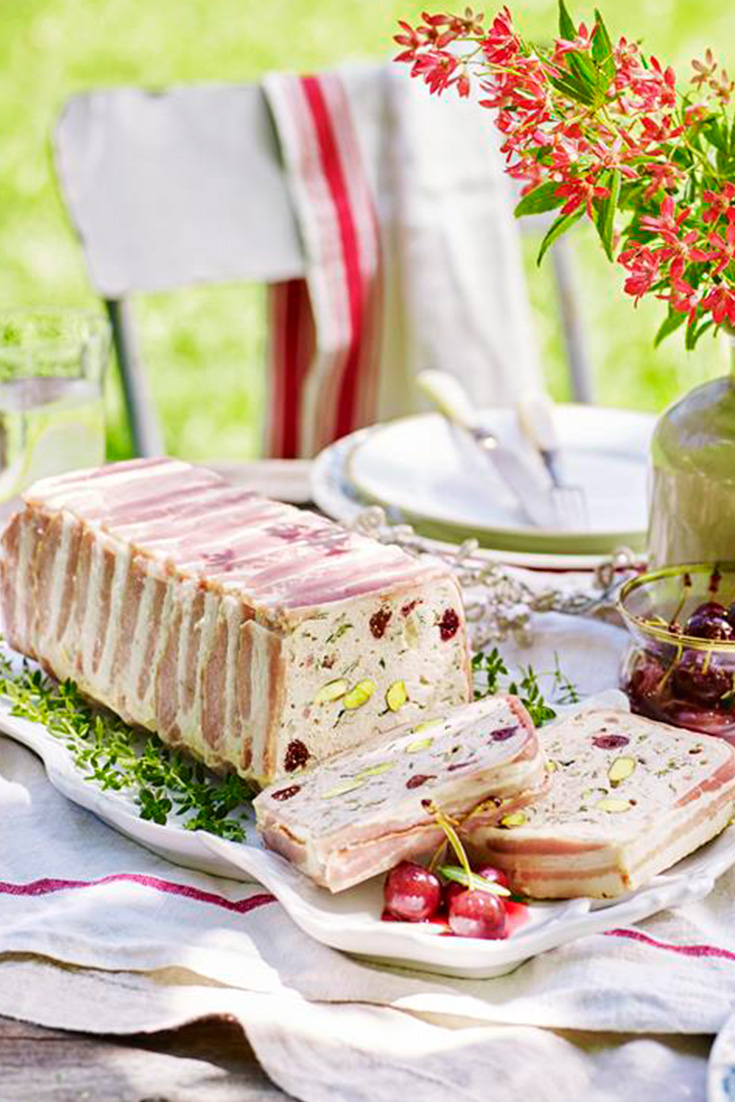 Make this festive terrine by Lilydale for this the summer entertaining season