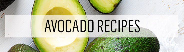 Get delicious recipes using avocados