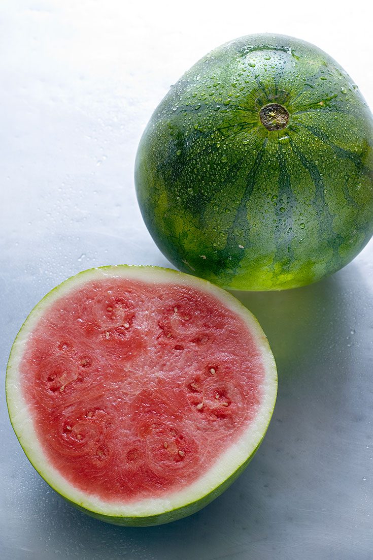 Fresh watermelon is in season this summer