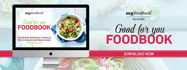2017 Good For you Foodbook with healthy and balanced recipes