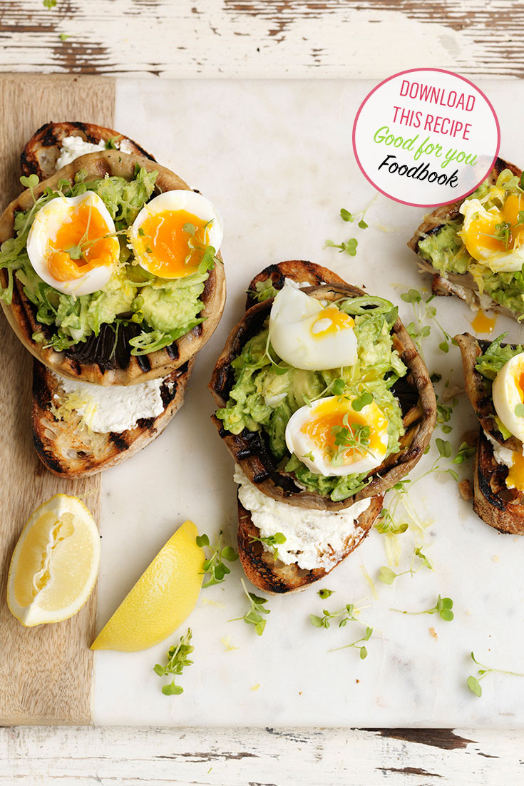 This delicious grilled mushroom bruschetta is just one of the delicious recipes in the myfoodbook Good for you Foodbook 2017