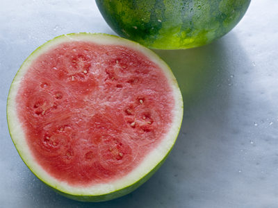 Fresh seasonal watermelon
