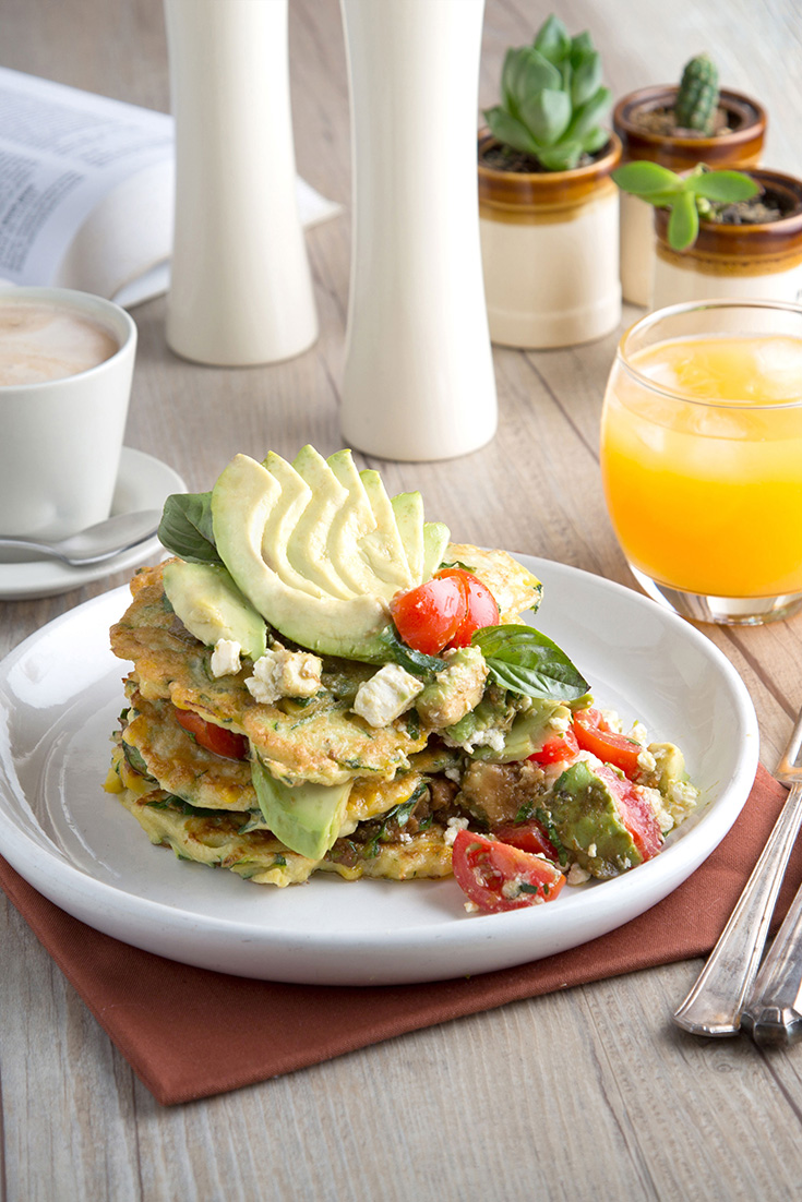 If you are looking for Valentine's Day recipes, try this Avocado and Haloumi Fritters recipe for breakfast