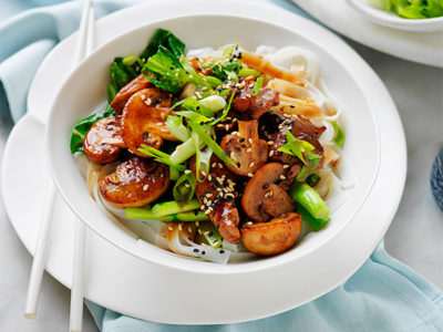 Mushroom Pork Stir Fry