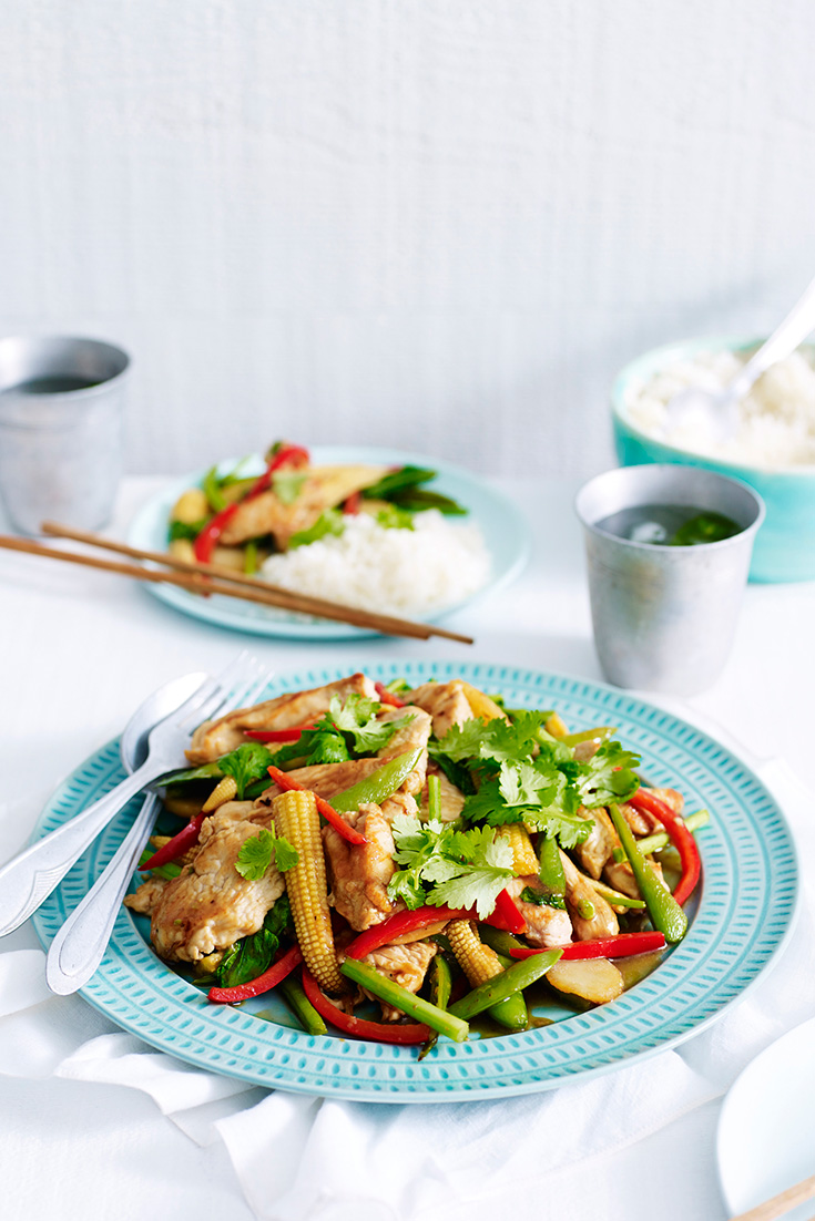 Make this easy turkey stir-fry for a delicious twist on your usual Asian-style dinner
