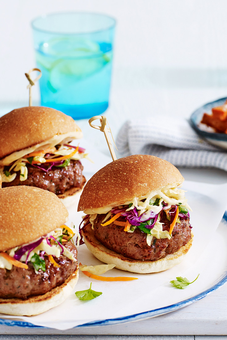 Try your sliders with turkey using this delicious idea