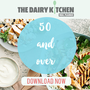 meal planner with recipes ideas for those 50 and over