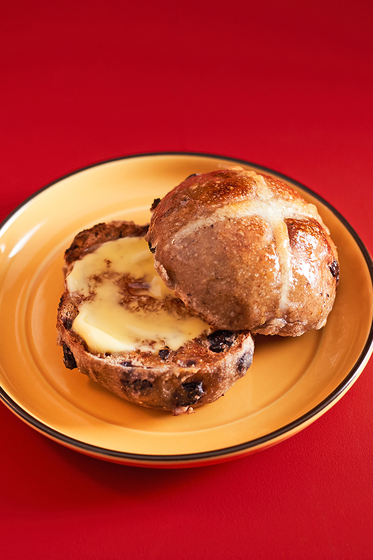 Make a delicious hot cross bun recipe with this traditional Easter baking idea