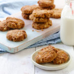 Traditional chewy Anzac biscuits