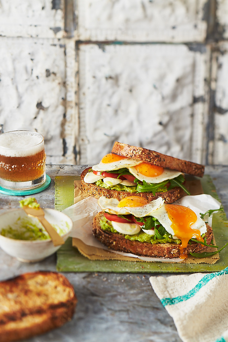 This ultimate fried egg sandwich is an easy and delicious dinner
